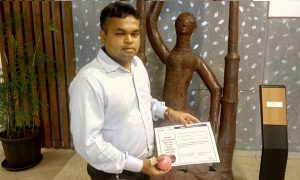Jigar Parikh - Deutsche Bank Kimati Bowler of the week