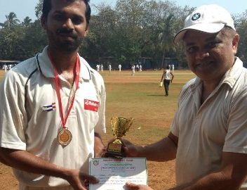 Dipesh Gawad (Mahindra & Mahindra Team) 71 runs in 49 balls 7 fours and 3 sixes