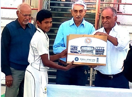 Musheer Khan (Mumbai U14 Team) Not out 237 runs in 368 balls 25 fours Against Saurashtra Under 14 Team