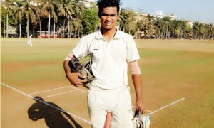Prakash Patil (Rika Global Team) 63 runs in 39 balls
