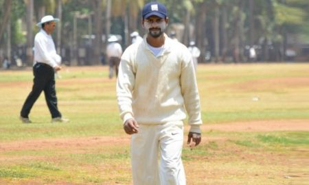 Pratik Patil (Sony Team) 50 runs in 24 balls 3 fours and 4 sixes