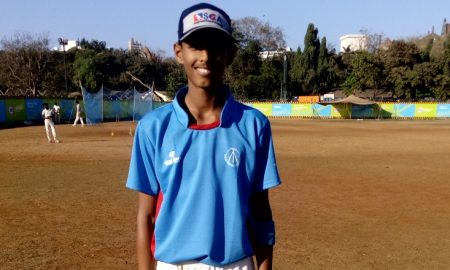 Suryansh Shedge (Sanjeevani Cricket Academy) 73 runs in 44 balls 12 fours and 1 six and 2 wkts
