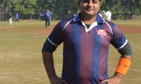 Sushil Kumar Gupta (Devils United Team) Not out 41 runs in 24 balls 4 fours and 2 sixes