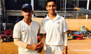 Suved Parkar(Left) and Rahul Kesari(Right) Swami Vivekanand School Borivali Team
