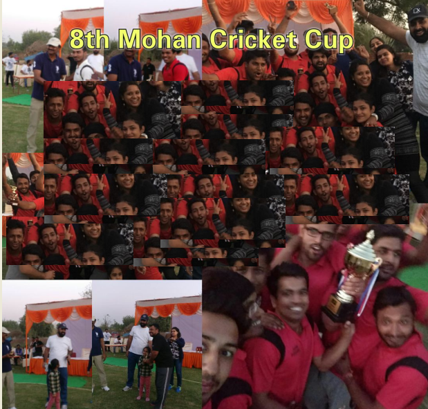 8th Mohan Cricket Cup Tournement Gurgaon