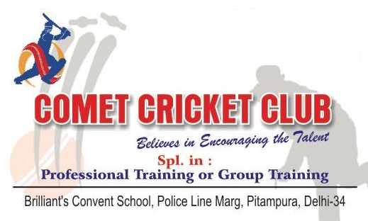 Commet Cricket Club Delhi