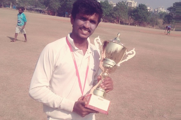 A Great perfomance by Aakash Bharadwaj & his team takes them to a quarter-finals win in the Govardhandas Shield Tournament