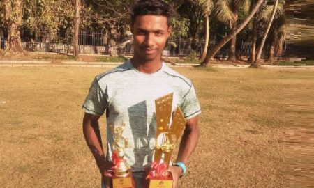 Aakash Patil (Rika Team) 75 runs in 29 balls 12 fours 2 sixes and 1 wkt