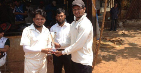 Alexion Business Service wins as Altamash Ahmed scores a gutsy 35 ball 56 in the Chanawala Challenger Trophy