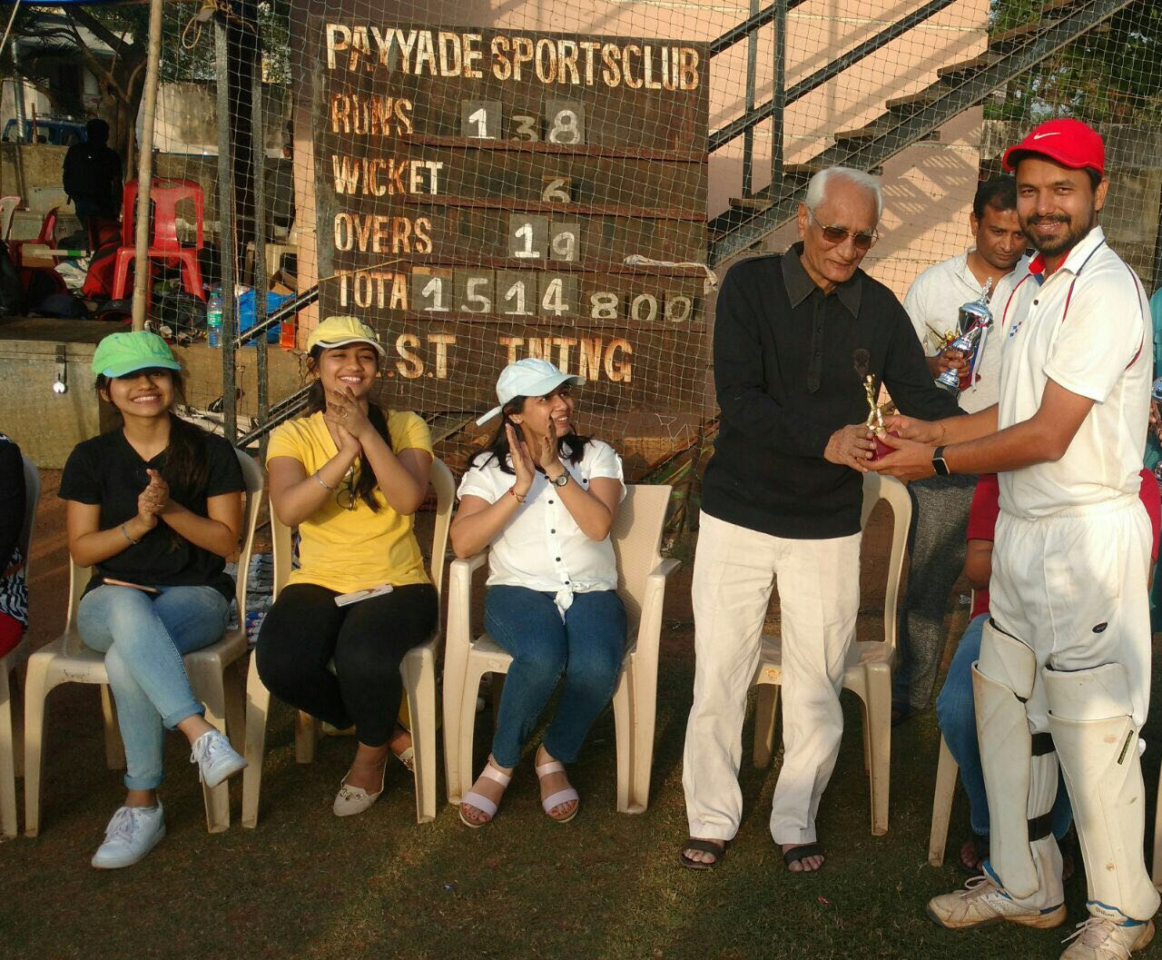 Best Batsman of the Tournament - Advait Chitalia (KSG Warriors Team)