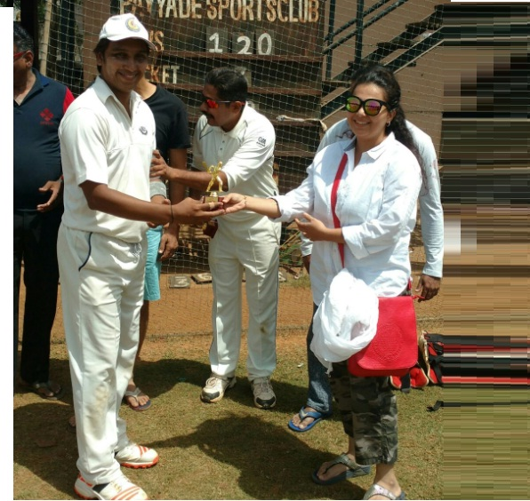 Best Bowler of the Tournament - Sitanshu Parekh (KSG Warriors Team)