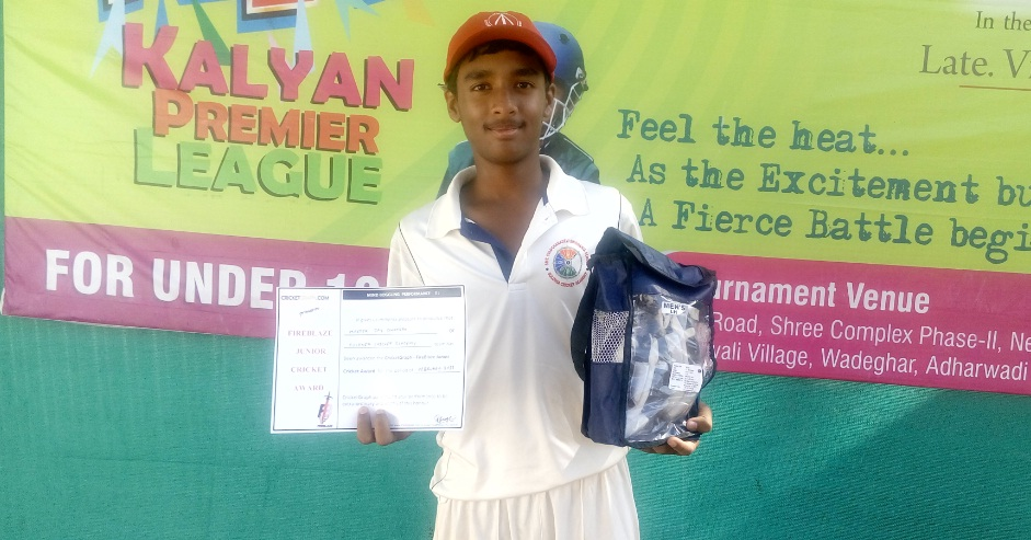 Jay Dhatrak (Sulonia Cricket Academy Team)