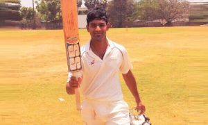 Karan Nandey (Fort Vijay Cricket Club Team) 102 Runs 112 Balls 12 Fours 1 Six