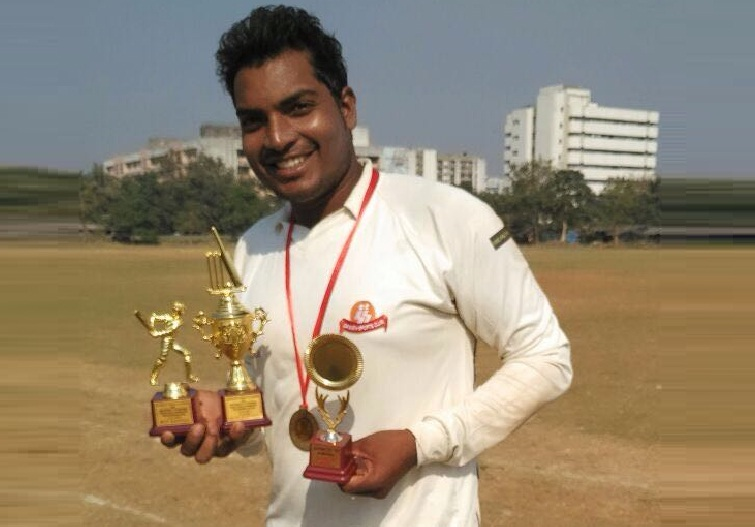 Manager Gupta (DTDC Team) 131 runs in 102 balls 9 fours and 5 Sixes