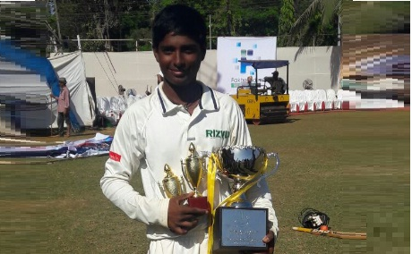 Mohit Tanwar (Rizvi Sports Club) 70 runs and 1 wkt