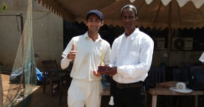 Nikhil Tanna and Zulkarnain help CEX win a low scoring encounter over Godrej in the Corporate Cricket League