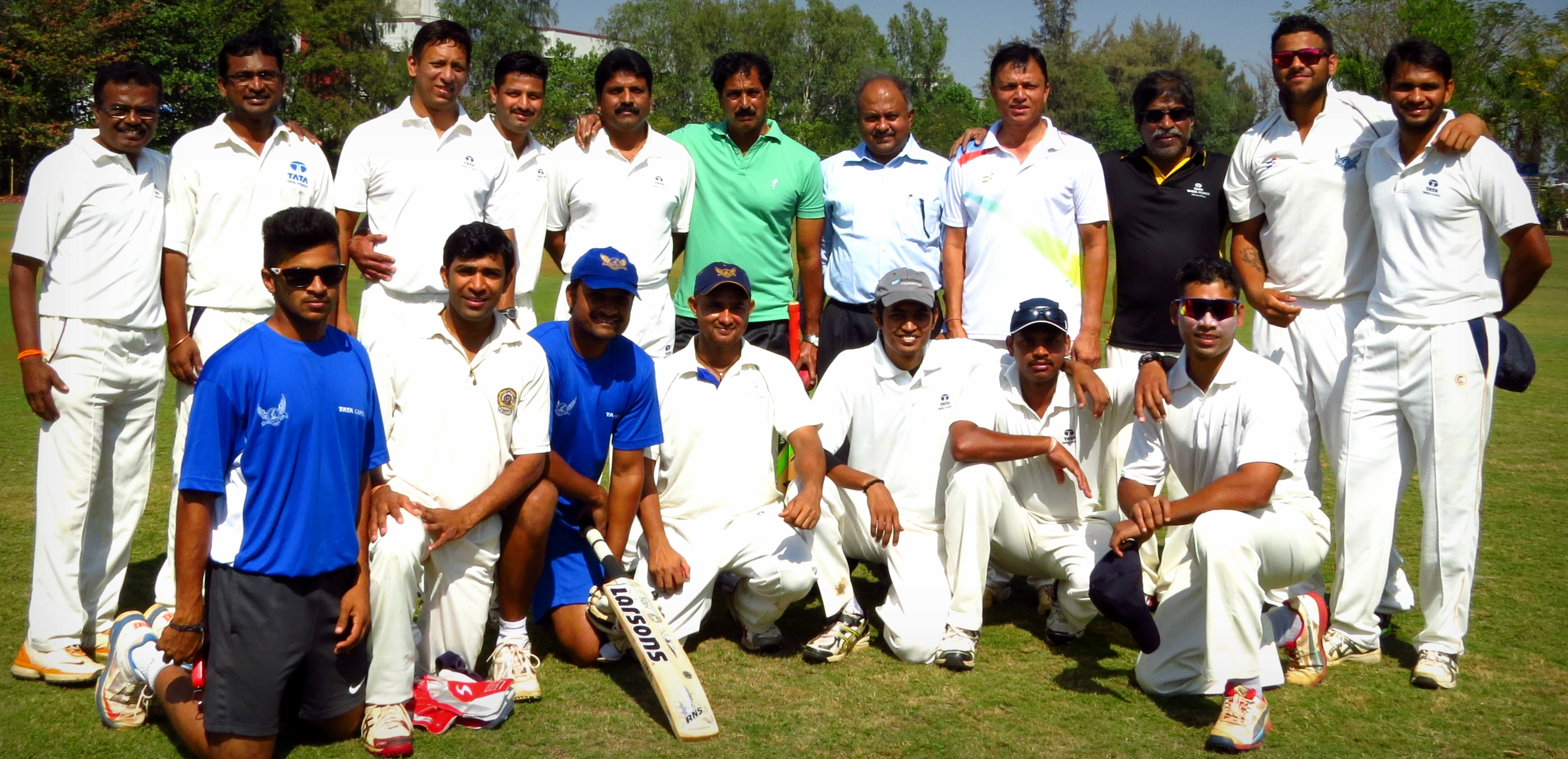 TATA POWER comfortably wins the league match against TCS in the Tata Inter Company Cricket Tournament