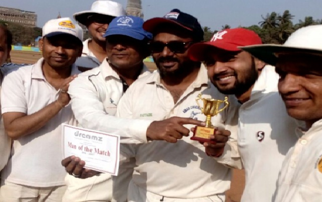 Pidilite wins against team ADC as Anthony Chettiar bowls a tight bowling spell of 4/16