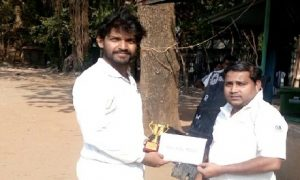 Dnyansagar Patil's 49* helps WNS win the match against Mahindra and Mahindra by 10wkts in the Dreamz T20 Tournament