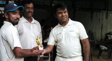 All-rounder Omkar Jadhav shows his mettle with a 4-for against Accenture in the Masters Cup Edition 6