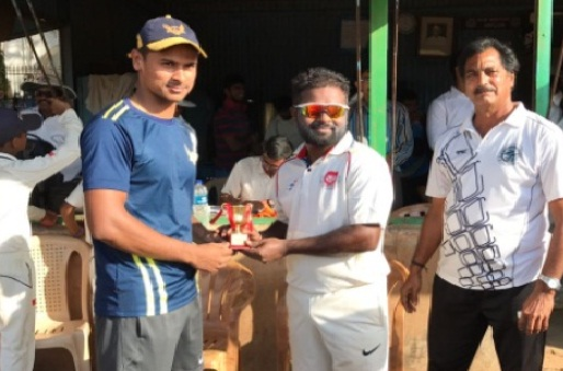 TUSHAR MORE's 44 ball 82 helps Tata Steel Tarapur win in the Tata Inter Company Cricket Tournament