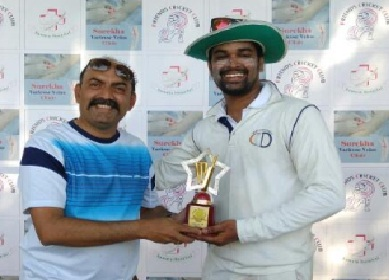 Nitin Jaitapekar's 4/25 leads C.C.D to a win over SHM Ulhasnagar in the Samata Friendship Trophy