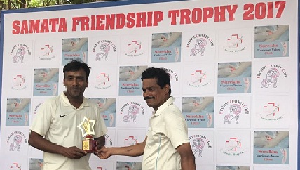 Ashish Dhadas and Prashant Nair's batting steer FCC Smashers to a win in the Samata Friendship Trophy 2017