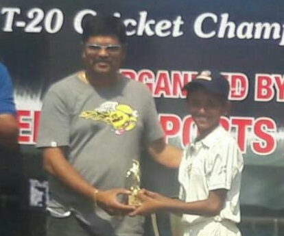 Jay Jain continues his fine form with a smoldering 65 ball 100*to steer Singhania to a win in the Singhania U-14 Tournament