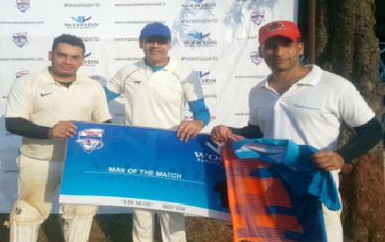 Skipper Javeed Siddique and keeper Amod Bagwe score solid half centuries for ICICI in the Woods T20 Cricket Tournament