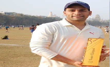 Opener Javeed's solid half century ensures ICICI securities a victory in the Masters Cup Edition 7