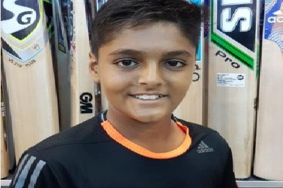 Jay Jain-a young and a promising left-hander making his mark..