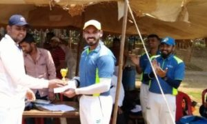 Loreal wins over Viacom 18 by 9wkts as Malay Singh and Navneet give great individual performances in the Dreamz T20 Tournament