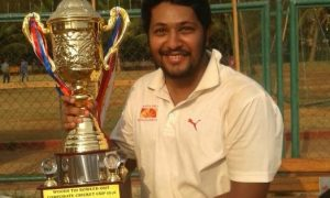Mayank Gala steals the show with his all-round brilliance against Tata Motors in the Masters Cup