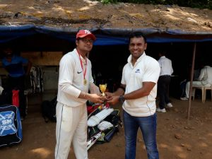 Omkar Maldikar Man of the Match