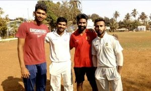 Good bowling by Royston and Vishal while Akhil's 54 derails SSC in the Quarters of the Salar Jung Tournament