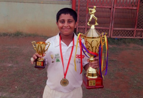 All-rounder Arjun Bagaitkar and Aarush Patankar steal the show vs Dnyansagar School in the MCA Bhandari Trophy 2017