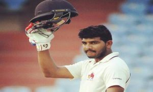 A barbaric hundred: Akhil Herwadkar scores a 54 ball 101 leading Payyade S.C to a win in the 68th Salar Jung Tournament