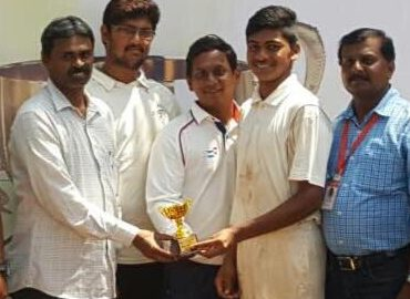 New Horizon school wins as Harsh Patil and Co. does a commendable job with the ball in the Singhania U-14 Tournament