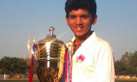 Karan does a Corey Anderson at local level: scores a 37 ball hundred against Canara Bank in Insurance Shield Tournament