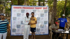 Man of the match – Rohidas Koyande for his hurricane knock