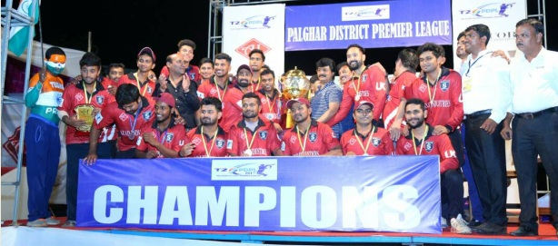 Shams Maulani and Co. pull up a great show to defeat Nandgaon Lions in the finals of the Palghar Premier League