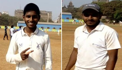 Praful Jadhav and Tauqeer Sheikh seal the pre-quarter finals in style vs Marwadi CC in the Summer Shield Tournament