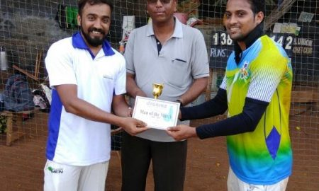 SHARAD NAYAK's all-round perfomance derails Loreal in the Dreamz T20 Tournament