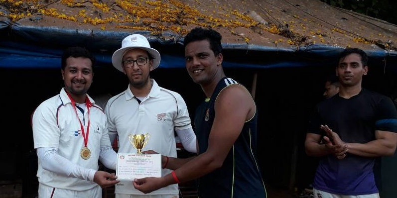 Sanofi openers Sushant and Srihari seal the game in style vs Orix in the Milan T20 Tournament