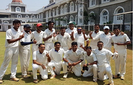 Saurabh's 51 and Vaibhav's 4/26 paves way for Yogi C.C to a finals win in the Govardhandas Shield Tournament