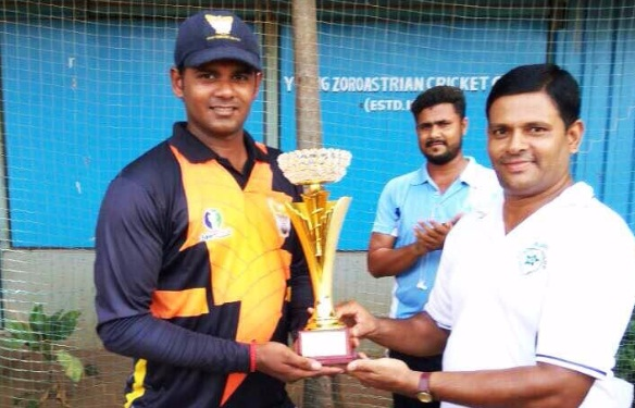 Spinner Yuvang Shah Sizzles with ball as GEBS wins the finals against Lupin in the JD Sports Tournament