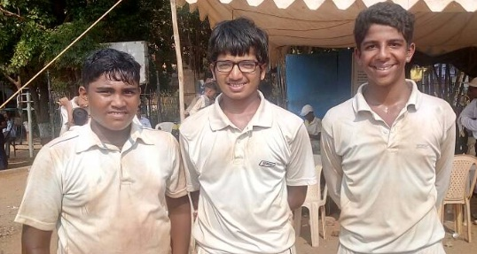 Shashwat's double ton while Sharik's 10wkts helps Krida Vikas Mandal clinch a big win in the U-14 Summer Vacation Tournament