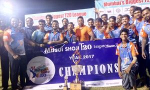 Pushkaraj Chavan shines in the finals of the Mitsui Shoji T20 Tournament