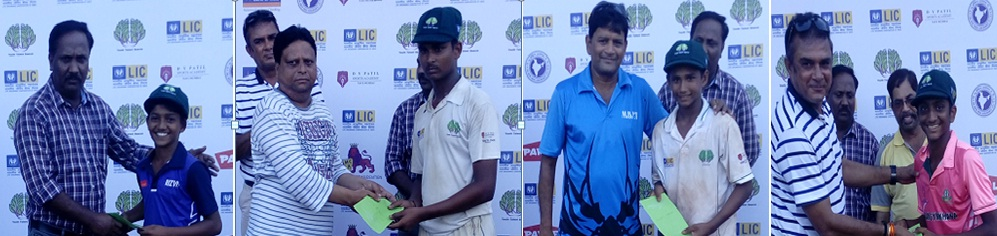 Manish scores a solid 105* while Aman takes a stunning 7/15 vs Bandra Centre in the Kalpesh Koli Tournament