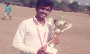 Akash Bharadwaj smashes 3sixes in the last 10balls to win the finals vs Datamatics in the DTDC CCL Tournament